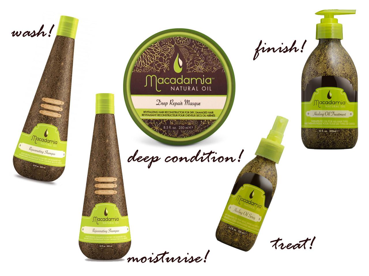 Macadamia Hair porducts