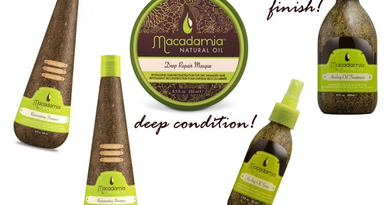 Macadamia Hair porducts