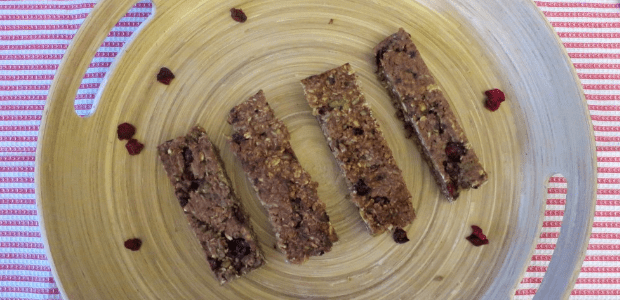 Super easy egg-free breakfast bars (Vegan)