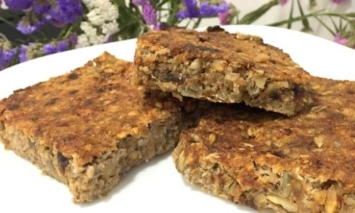Heavenly fruit and nut bars (vegan, paleo, gluten free, dairy free)