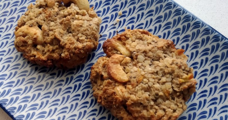 Quick Dairy, Grain and Gluten free Cookies