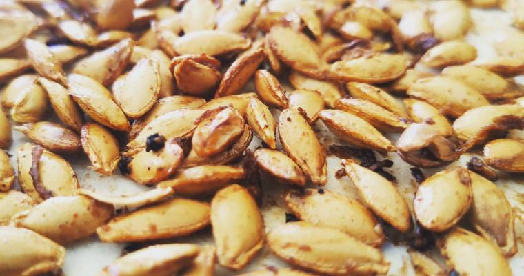 Epic baked pumpkin seeds