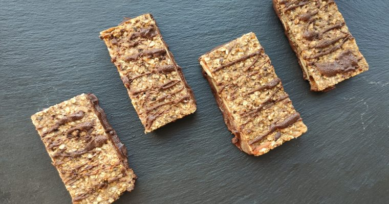 Chocolate oat bars