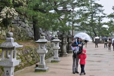Spacer do świątyni Itsukushima