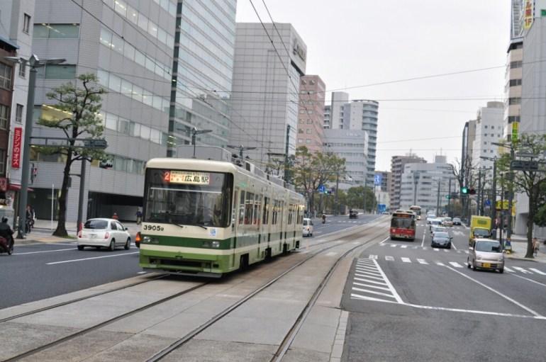 Tramwaj w Hiroszimie