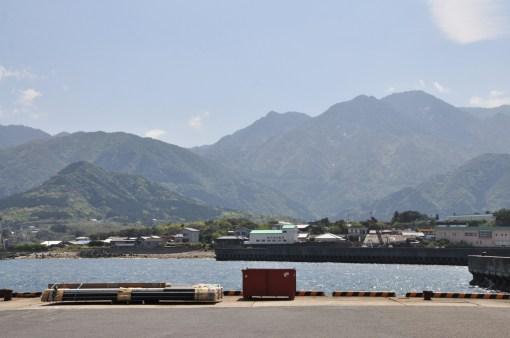 Yakushima - widok z portu