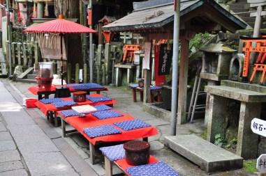 Fushimi Inari - odpoczynek