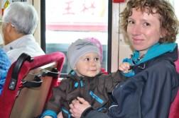 Kyoto - w autobusie