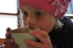 Oliwka i zielona herbata