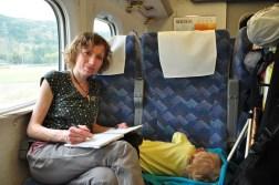 Podróż Shinkansenem do Osaki