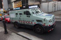 Samochód do przewożenia pieniędzy w San Jose