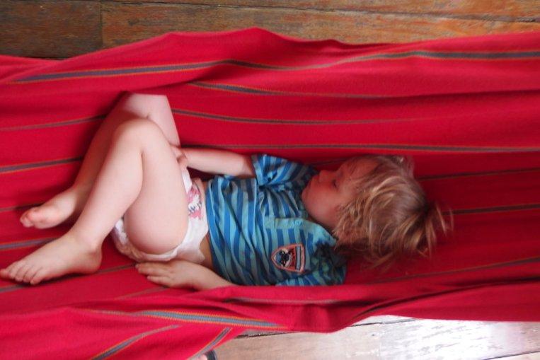 Śpioch w hamaku w Montezumie