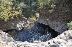 U góry wodospadu Montezuma