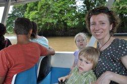 Na łódce do Tortuguero