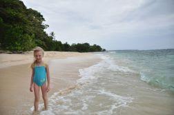 Oliwia na bezludnej wyspie Zapatilla