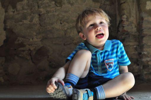 Kacper odpoczywa w monastyrze Lavra