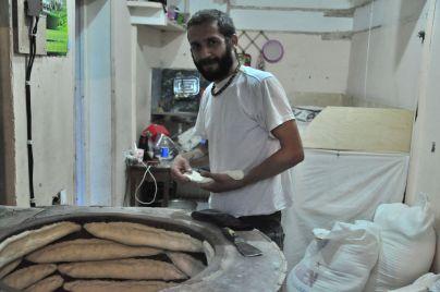Piekarz w Tbilisi