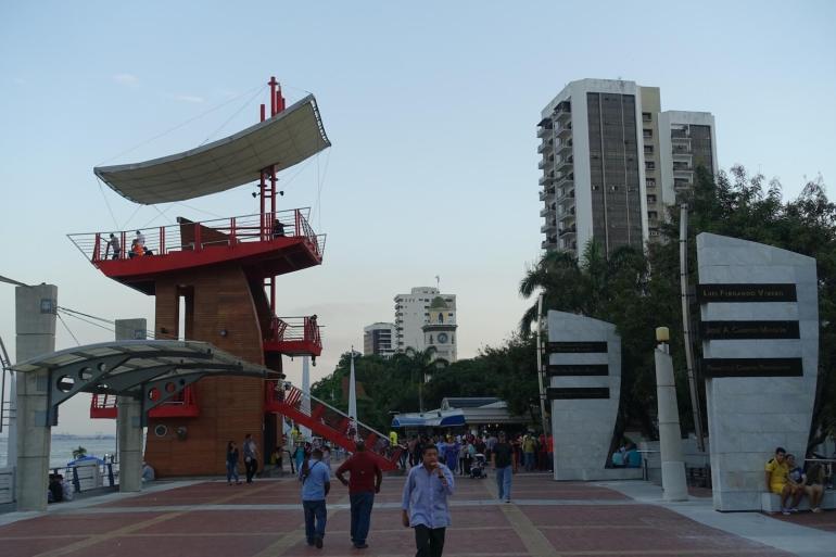 Promenada w Guayaguil