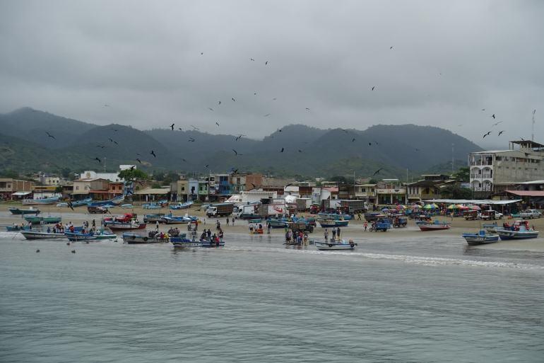 Puerto Lopez o poranku