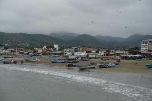 Puerto Lopez w Ekwadorze