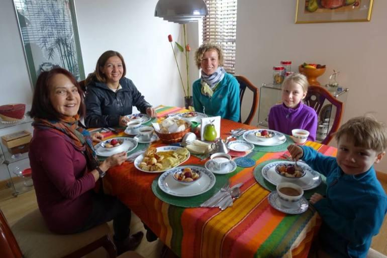 Bogota - zaproszenie na śniadanie