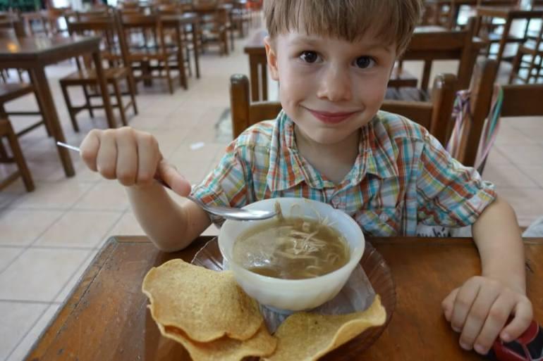 Meksyk i Valladolin - zupka dla Kacpra