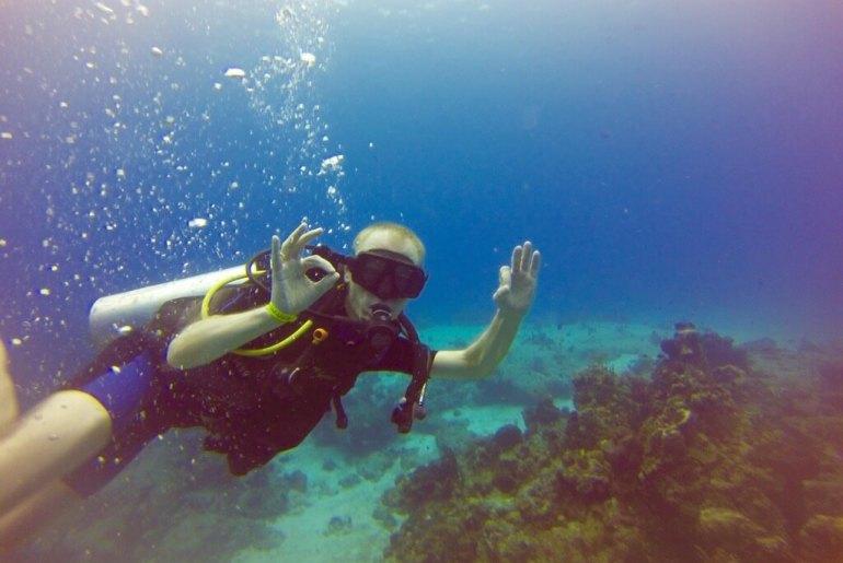 Nurkowanie na wyspie Cozumel w Meksyku
