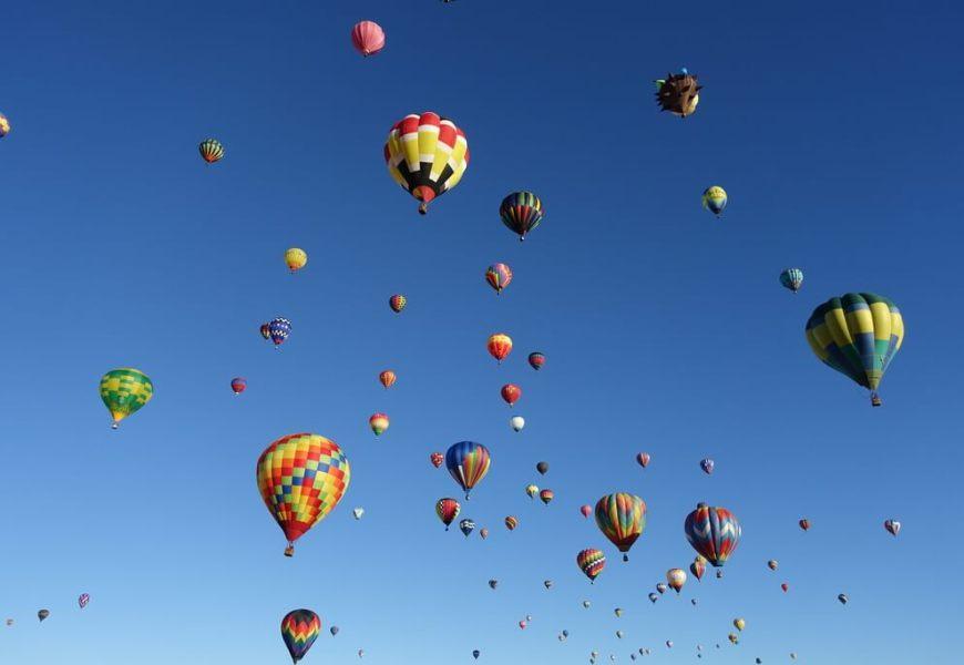 45-ty festiwal balonów w Albuquerque