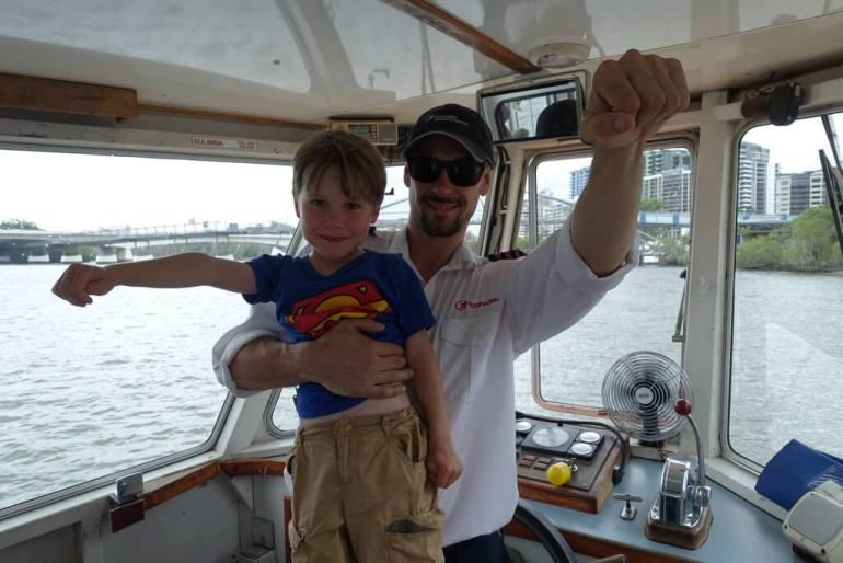 Superman w Brisbane
