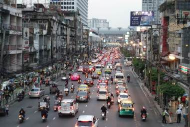 Korki w Bangkoku