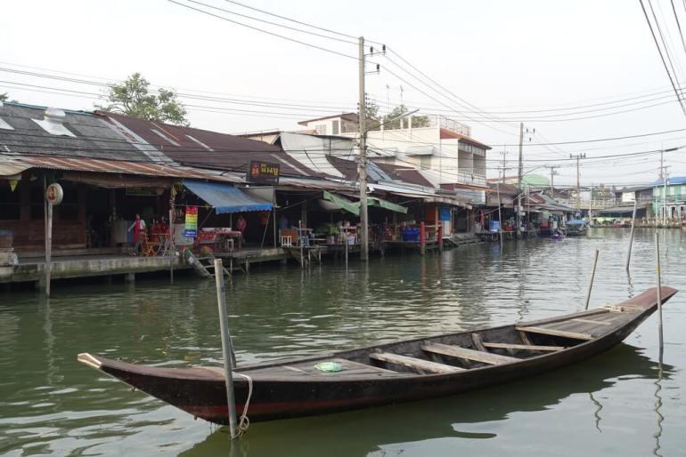 Akhawa pływający targ z rana
