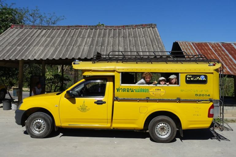 Transport do Mae Salong