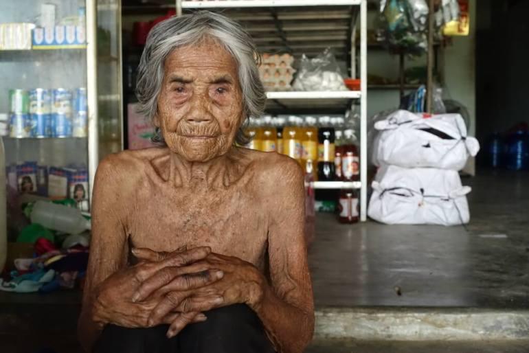 Najstarsza Wietnamka 110lat