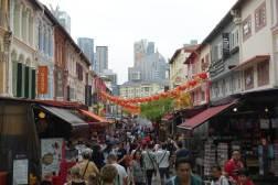 Chinatown w Singapurze