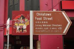 Food street w Singapurze