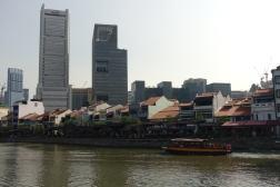 Klimatyczne knajpki przy rzece w Sinagpurze