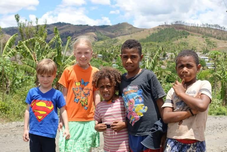 Dzieciaki w podróży dookoła świata