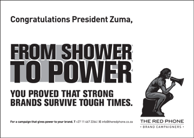 From shower to power