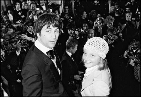 Robert De Niro & Jodie Foster, Cannes, 1976