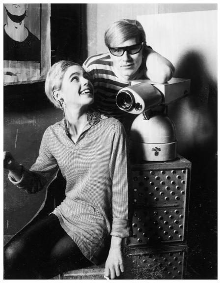 Edie Sedgwick & Andy Warhol, 1972