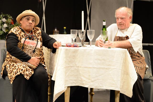Vinette Ebrahim en Chris van Niekerk in Die ongelooflike reis van Max en Lola