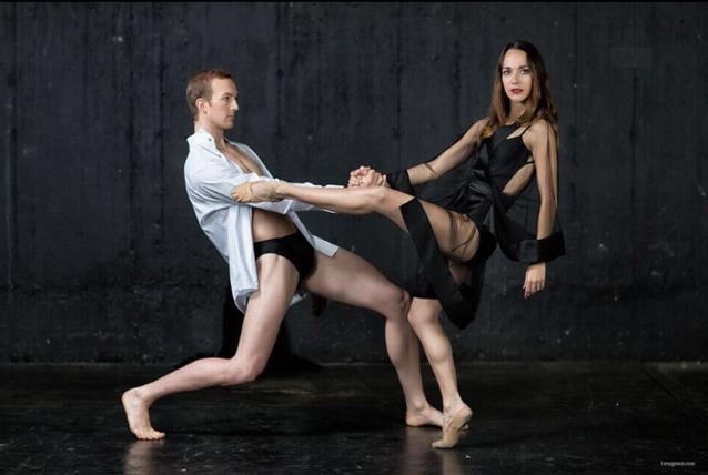 Thomas Thorne & Laura Bosenberg in The Vortex