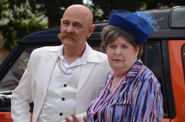 Marcel van Heerden en Margot van Rooy