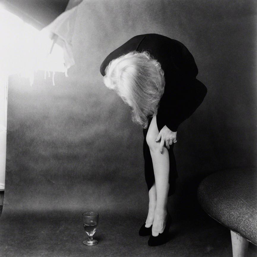 Marlene Dietrich, deur Milton Greene, 1952