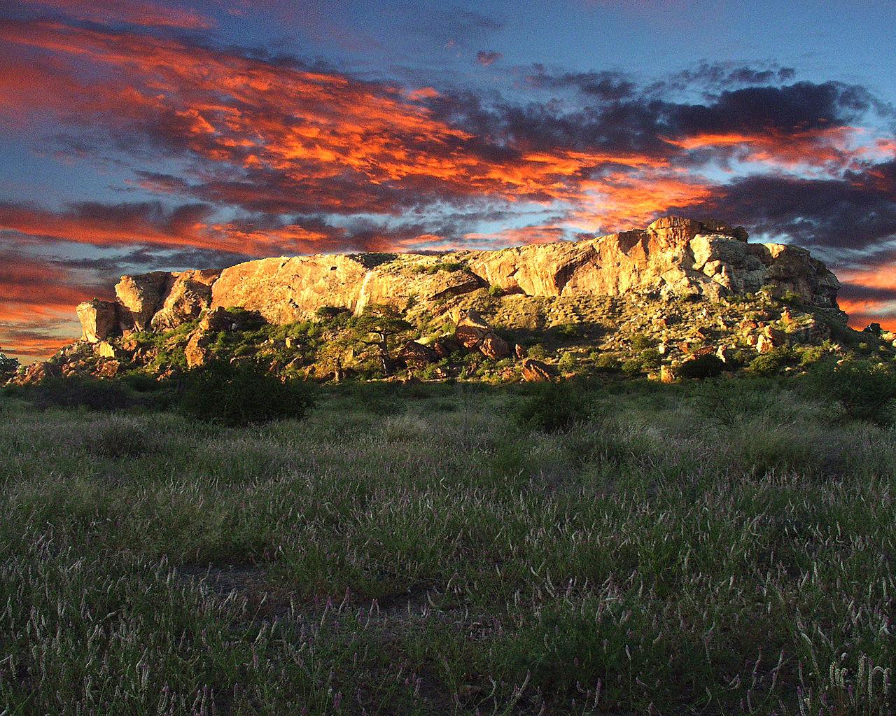 Mapungubwe heuwel, Limpopo, Suid-Afrika (foto: Marius Loots, 2003)