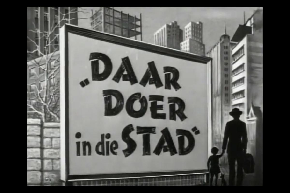 Daar doer in die stad, 1954