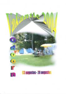 Zomervakantie 2004