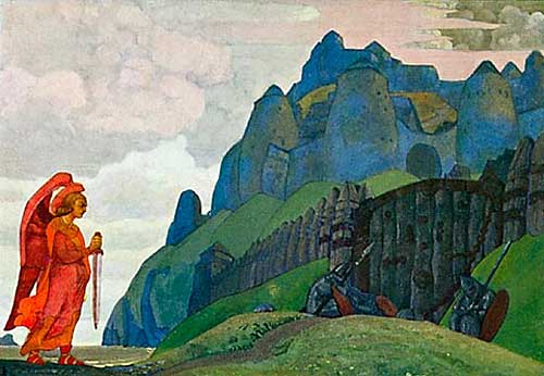N.K. Roerich. 'The Sword of Valour', 1912