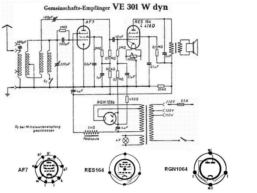 Radione Ve 301 Dyn