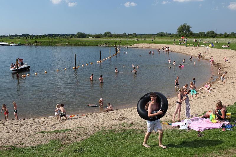 Klein strand van Roeselare